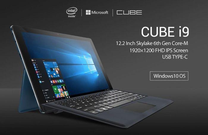 Обзор Трансформера 2 в 1 CUBE i9 на базе процессора Intel® Skylake Core™ M3-6Y30