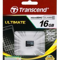 Карта памяти Transcend MicroSDHC 16GB (Class10)