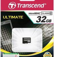 Карта памяти Transcend MicroSDHC 32GB (Class 10)